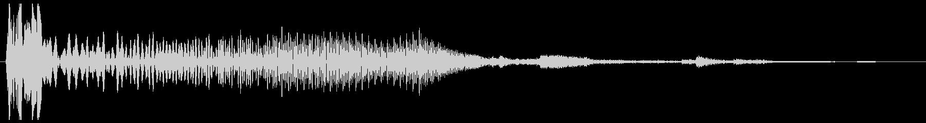 ウイーンガッチャン(機械の動作音)の未再生の波形