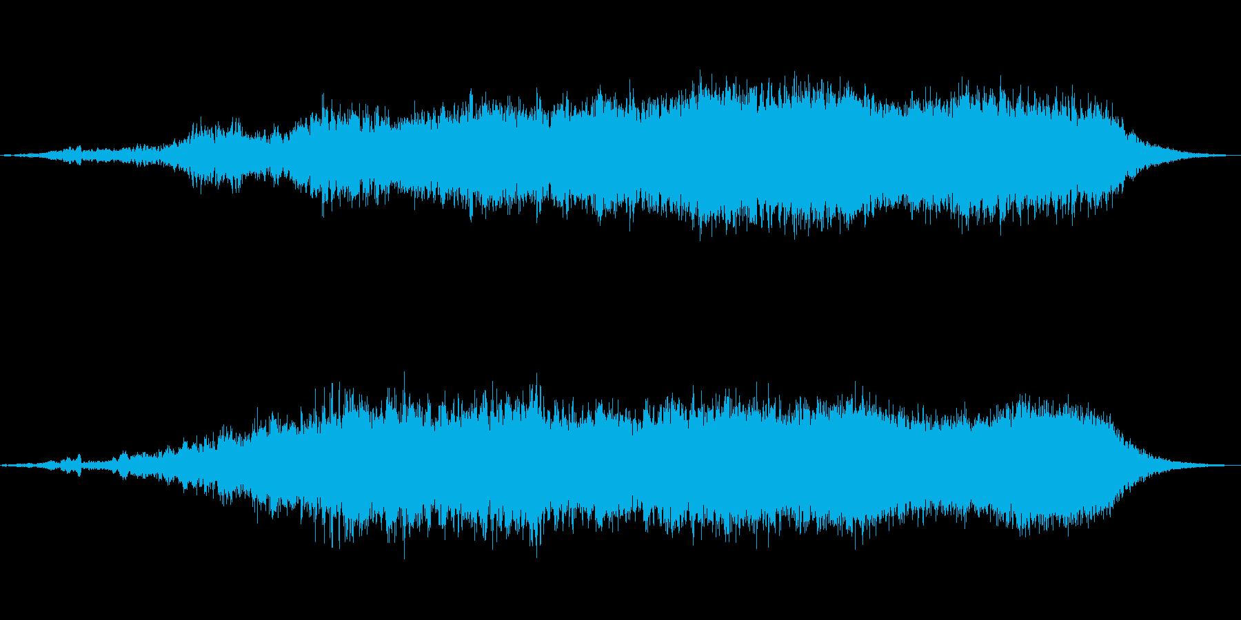 変身スターシャワーの再生済みの波形