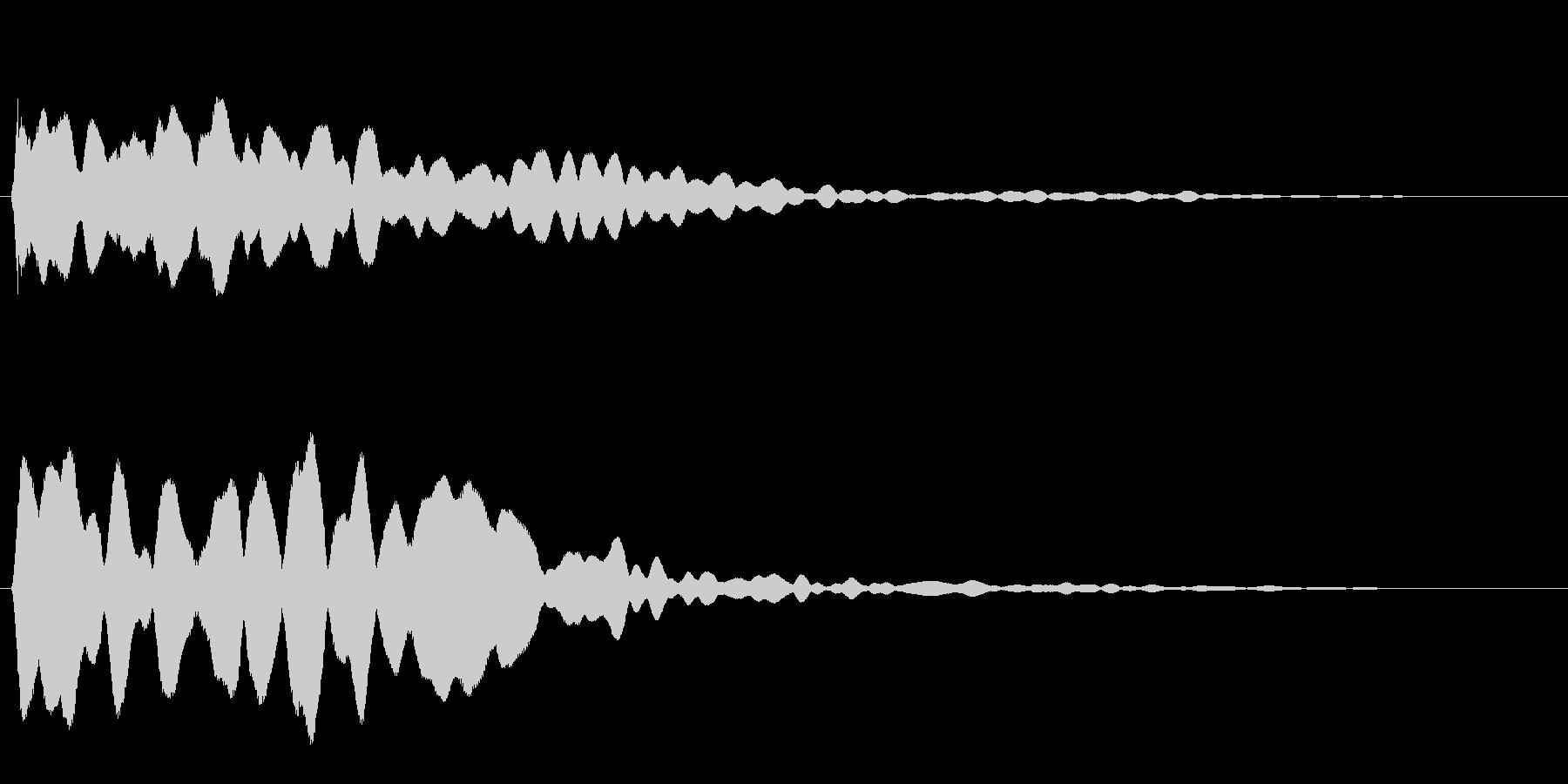 キーンッ (透明感のある高音)の未再生の波形