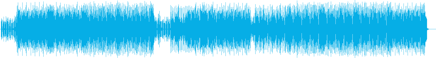 Light and near-future techno pops's reproduced waveform