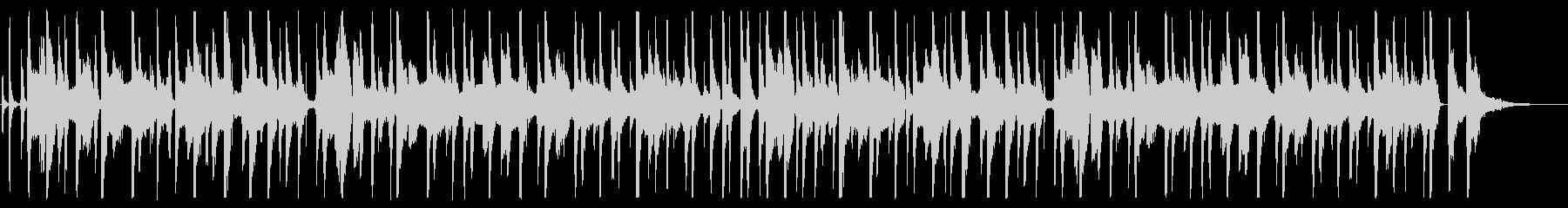 カズーとジューズハープのオチャラケソングの未再生の波形