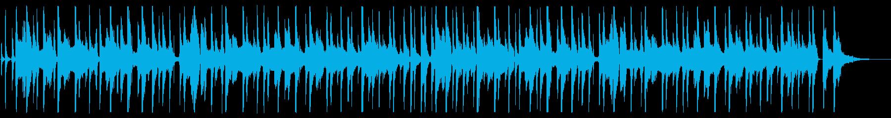 カズーとジューズハープのオチャラケソングの再生済みの波形