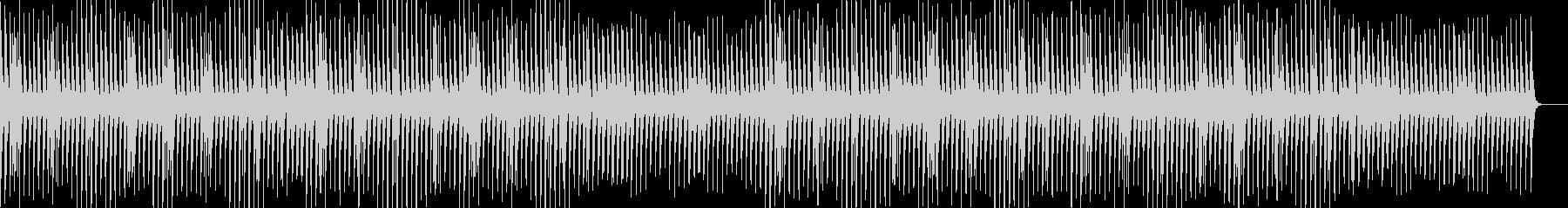 かわいい・ほのぼの・マリンバの未再生の波形
