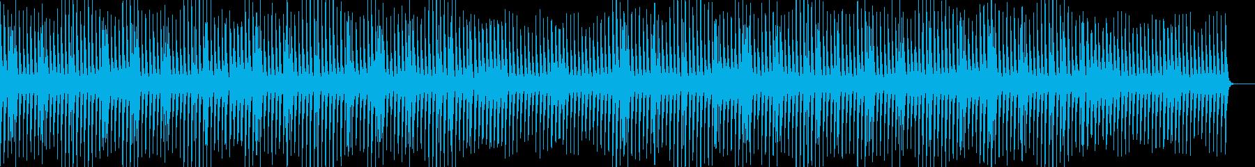 かわいい・ほのぼの・マリンバの再生済みの波形