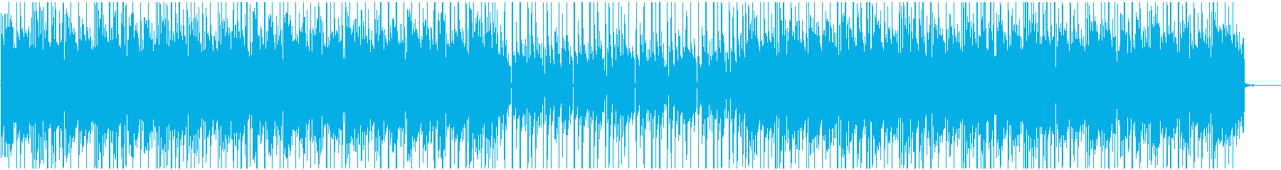 爽やかで明るいポジティブポップスの再生済みの波形