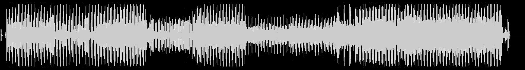 和楽器を使った怪しげな雰囲気のファンクの未再生の波形