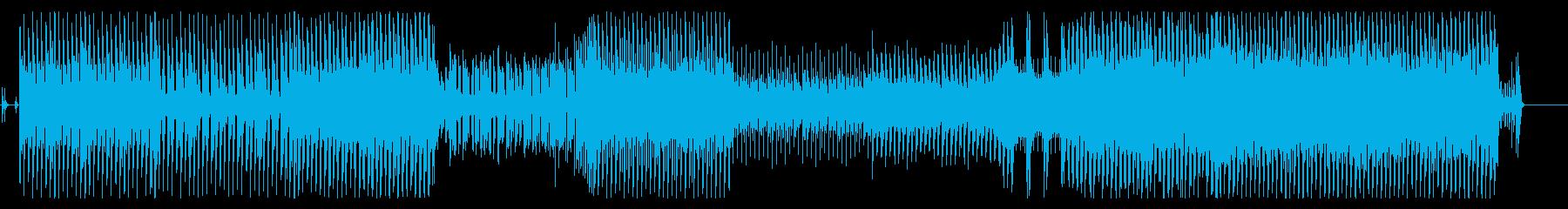 和楽器を使った怪しげな雰囲気のファンクの再生済みの波形