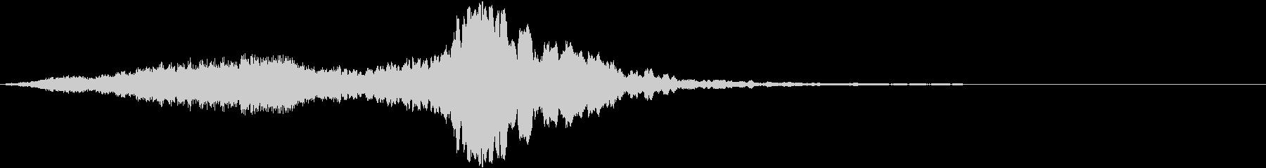 スパーク音(ゲーム・魔法)の未再生の波形