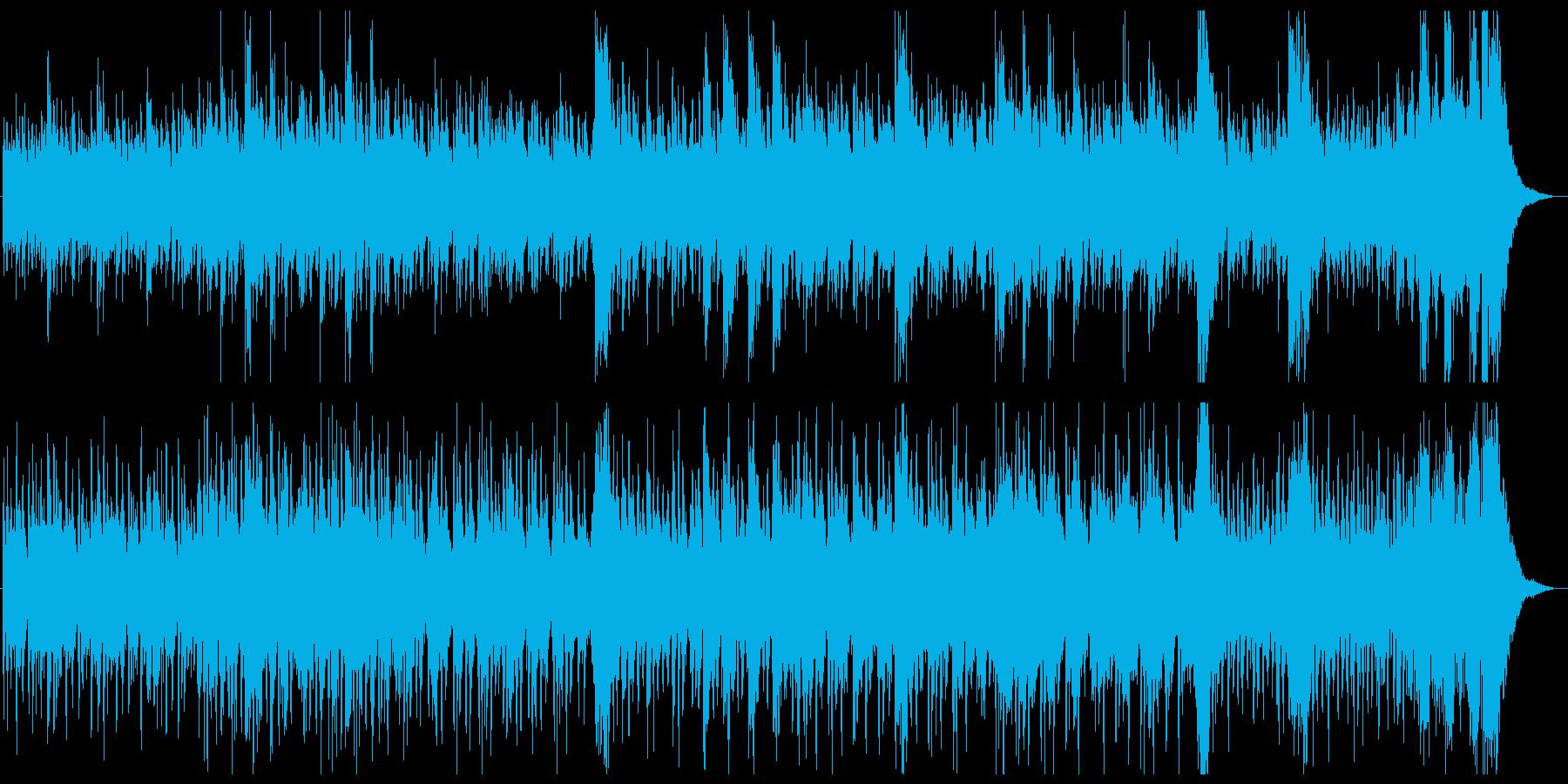 パーカッション・ドラム系を贅沢に使用♫ の再生済みの波形