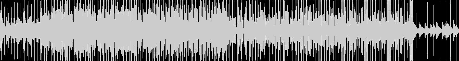 ピアノとシンセのJazz_BGMの未再生の波形