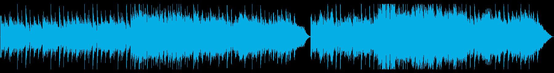 アコギが印象的な優しく切ない雰囲気の曲の再生済みの波形