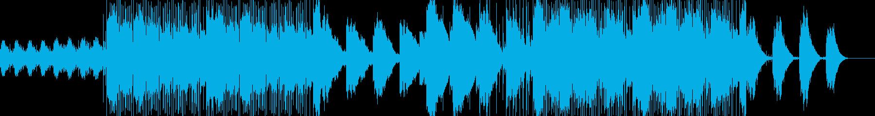 軽快なチルアウトの再生済みの波形