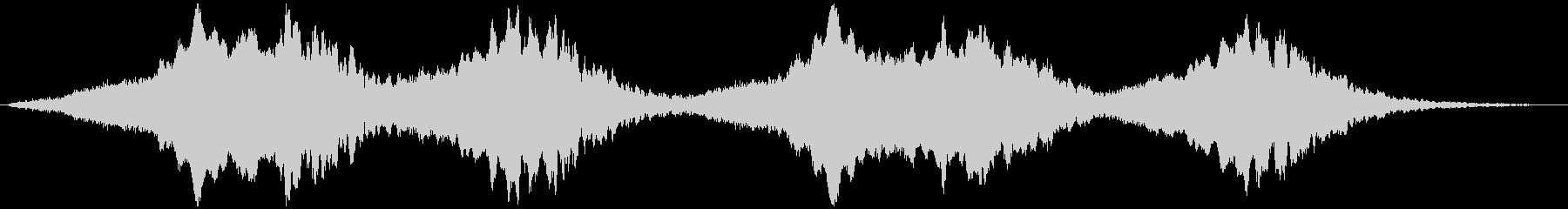 PADS ホエールソング03の未再生の波形