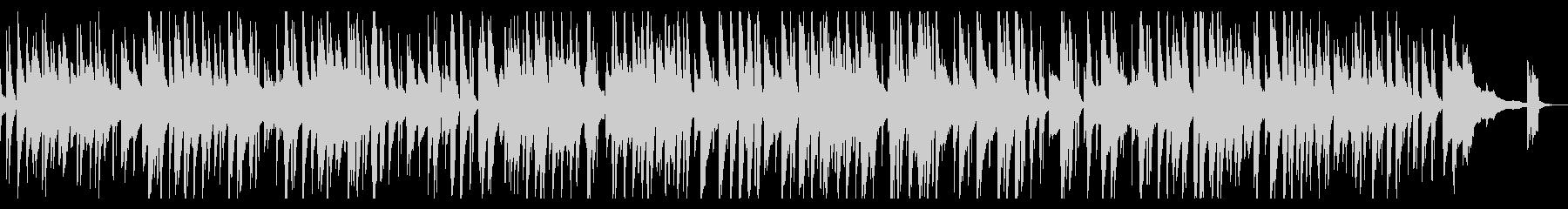 落ち着きのあるjazzピアノトリオの未再生の波形