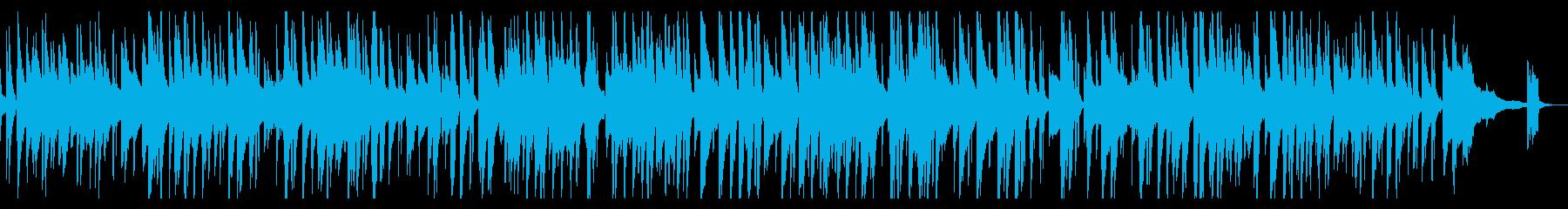 落ち着きのあるjazzピアノトリオの再生済みの波形