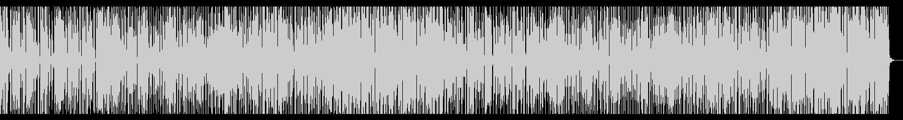 優しく寂しい雰囲気のBGMの未再生の波形