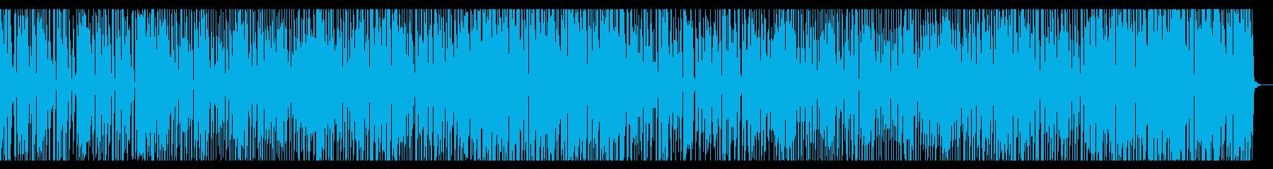 優しく寂しい雰囲気のBGMの再生済みの波形