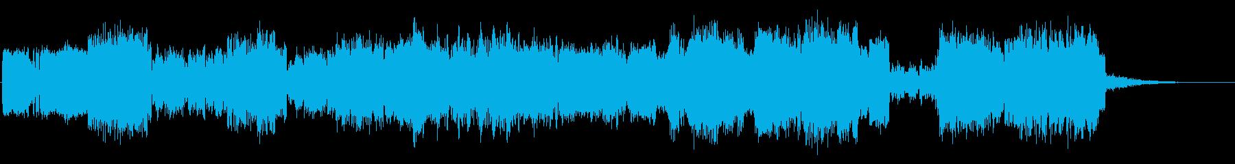 オーディオカオスの再生済みの波形
