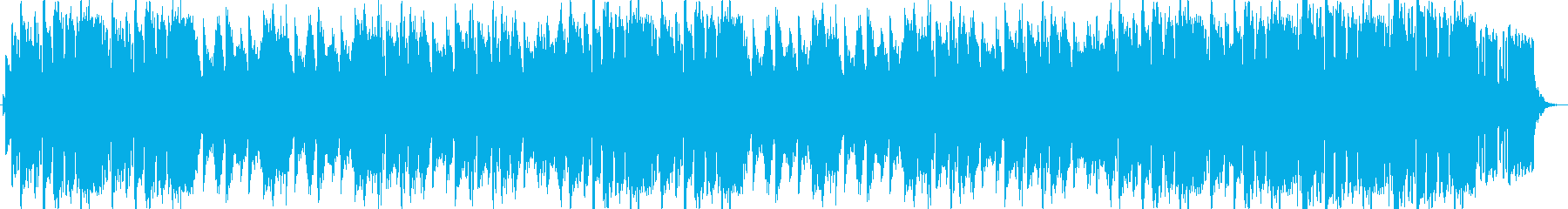 アコーディオンによる懐かしい雰囲気の曲の再生済みの波形