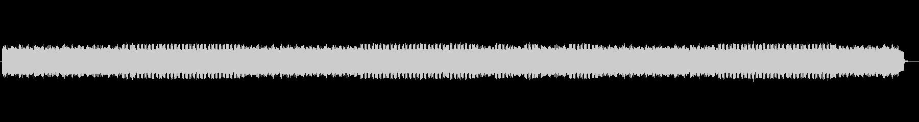 近未来感のある謎めいたシンセミュージックの未再生の波形