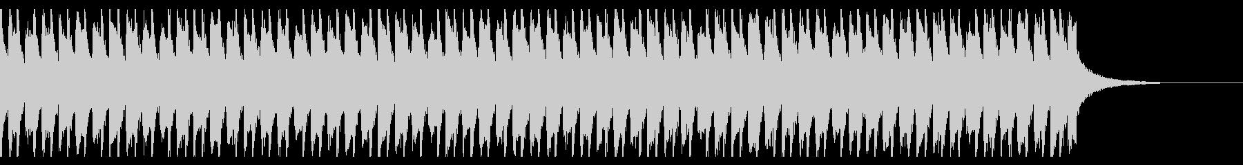 アップビートでハッピーポップ(30秒)の未再生の波形