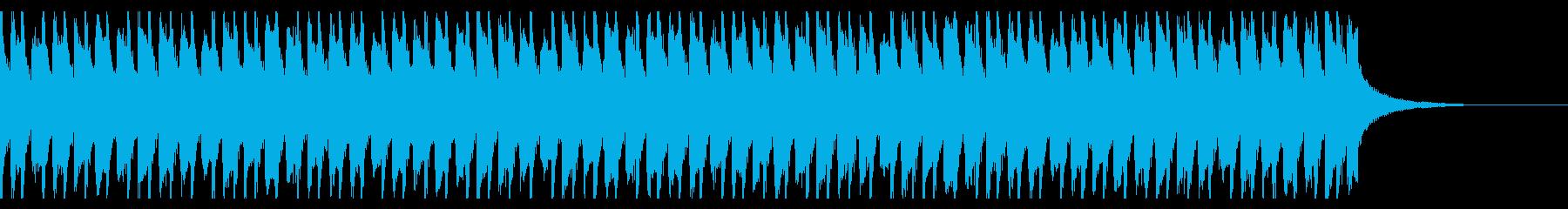 アップビートでハッピーポップ(30秒)の再生済みの波形