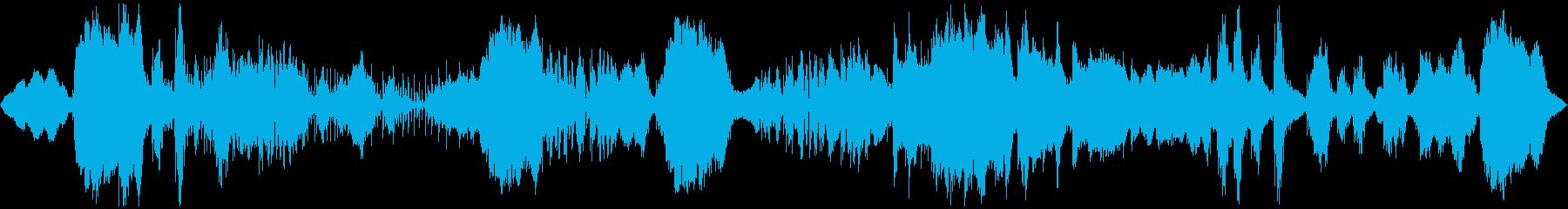 恐怖、ホラーな感じのノイズ楽曲です。の再生済みの波形
