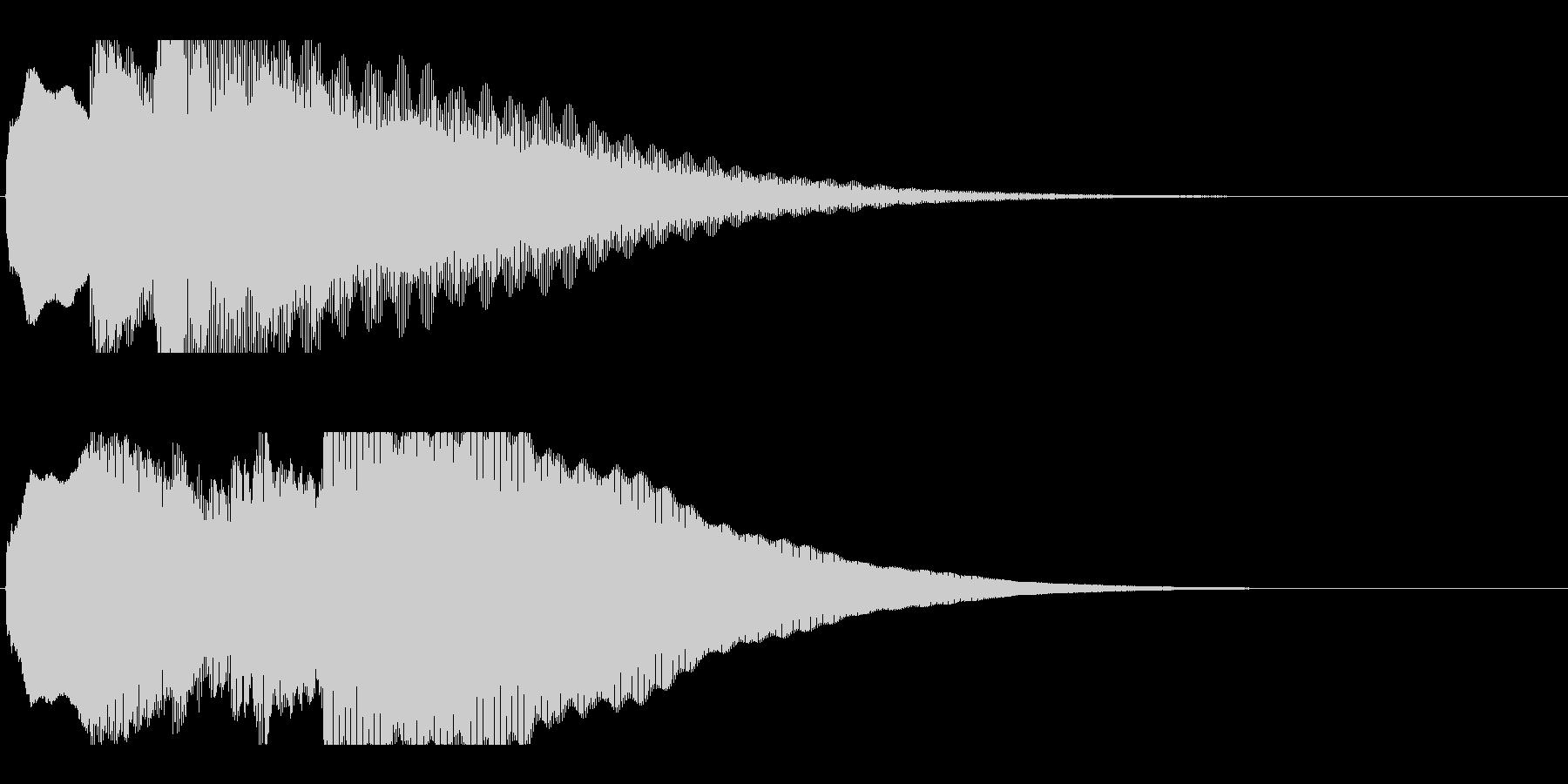 アナウンス前 チャイム-1_rev-2の未再生の波形