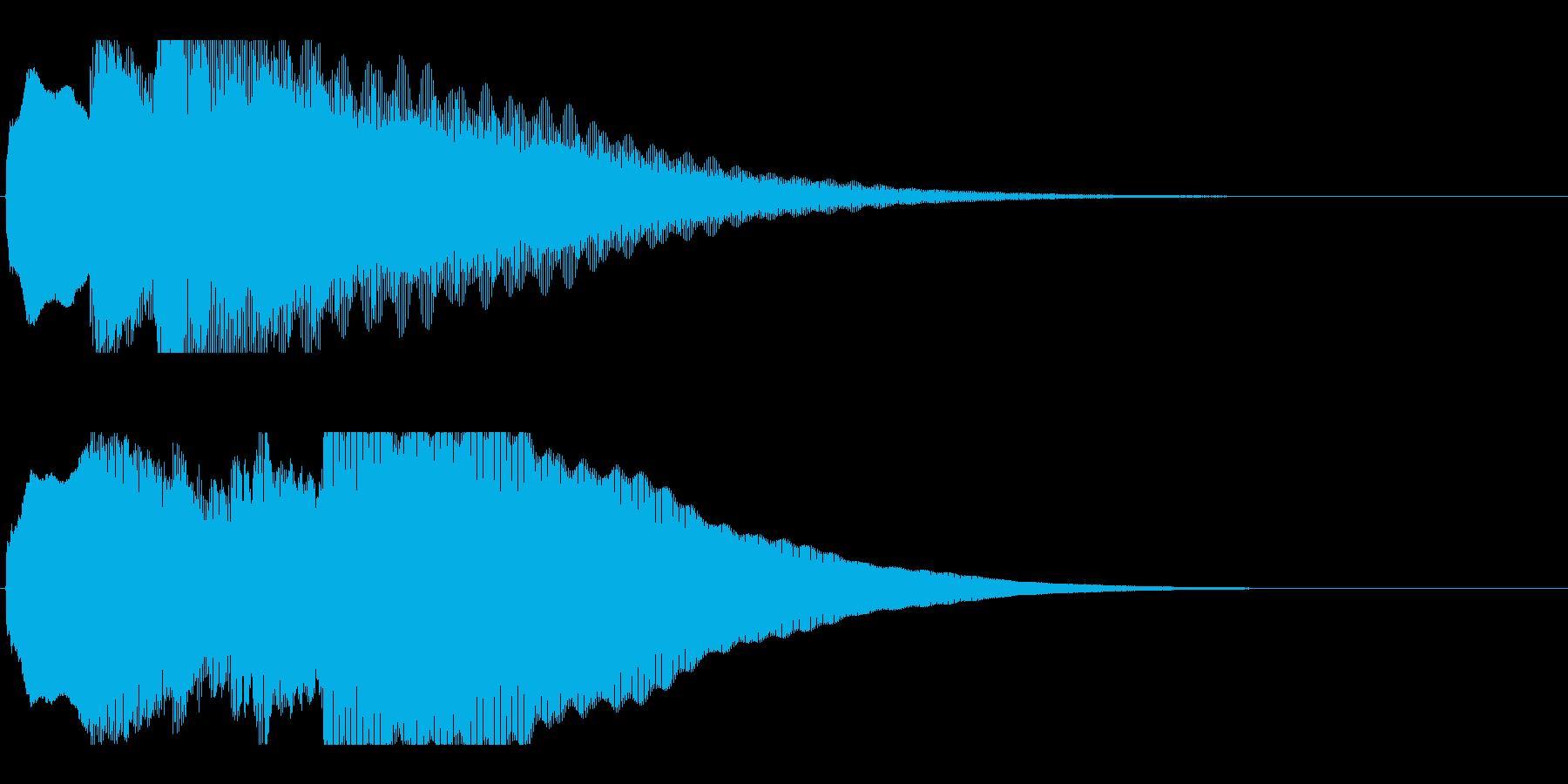 アナウンス前 チャイム-1_rev-2の再生済みの波形