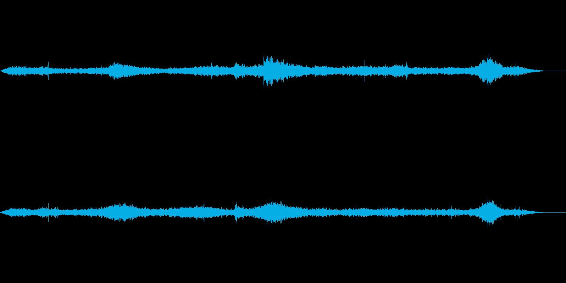 波の音です。広がり感を出してます。の再生済みの波形