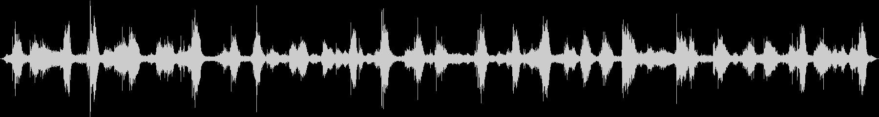 ザバーン(冬の海の音)の未再生の波形