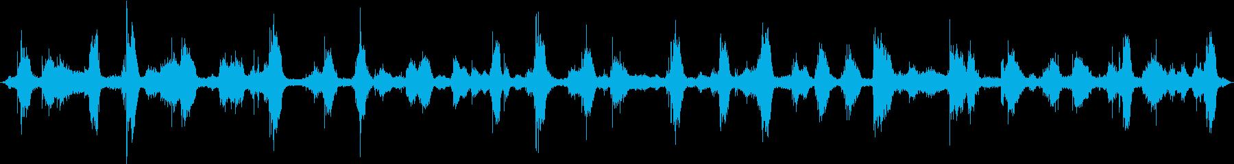 ザバーン(冬の海の音)の再生済みの波形