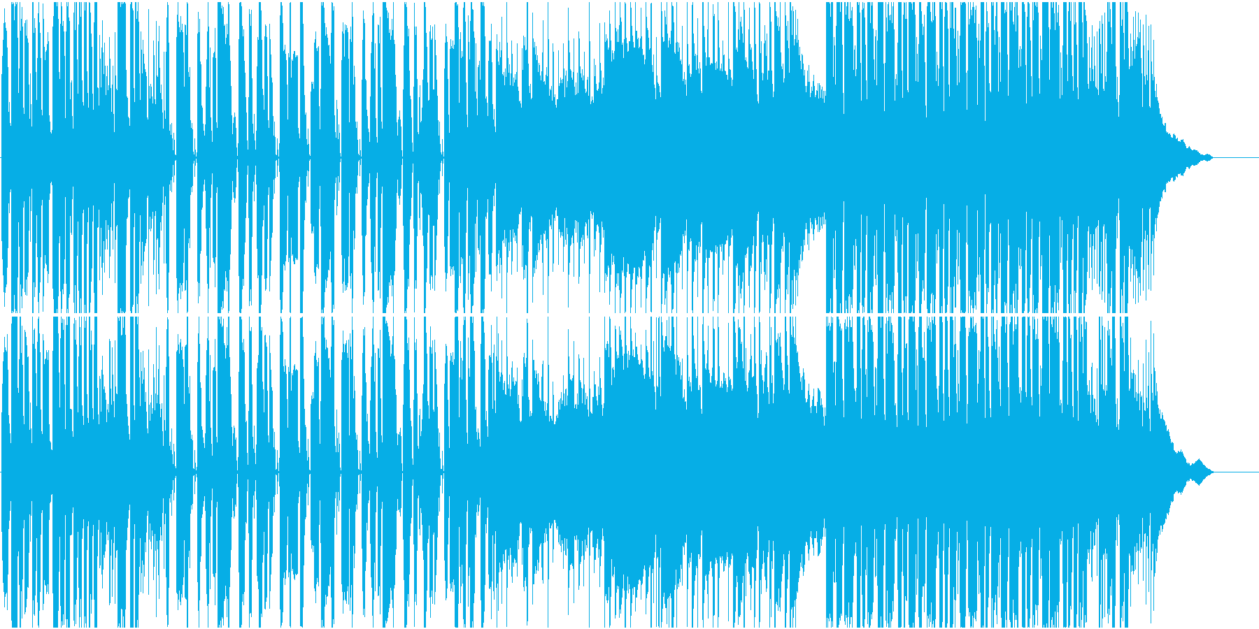 Popで爽やかなファンク、AORの再生済みの波形