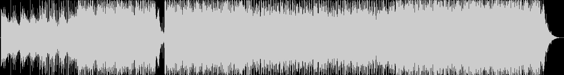 最小限のバックグラウンドチューンの未再生の波形
