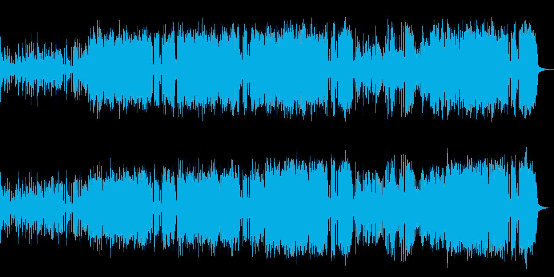 ほのぼのしたイメージのクラシック的室内楽の再生済みの波形