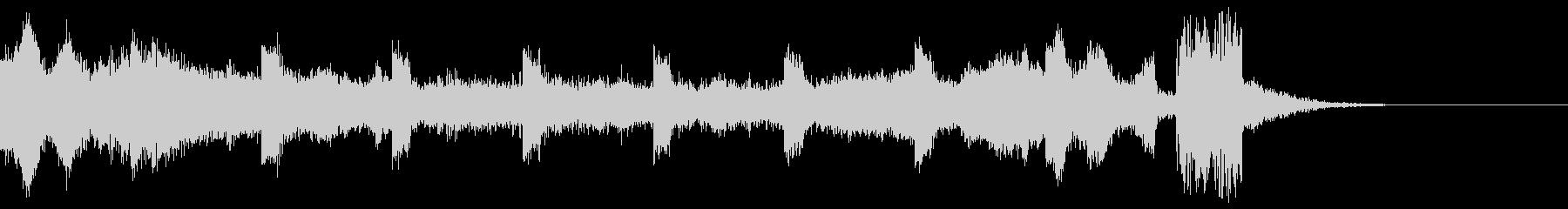 シンキングタイム(10秒)の未再生の波形