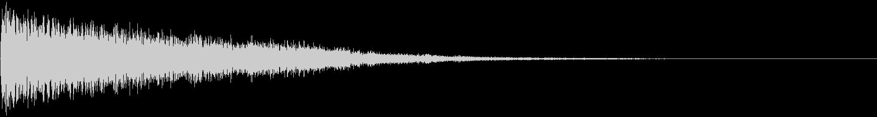 【ゲーム演出】SFX_11 ブーンッ・・の未再生の波形