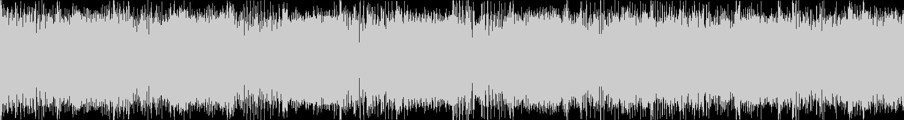 プレイヤーセレクト メタル ループの未再生の波形