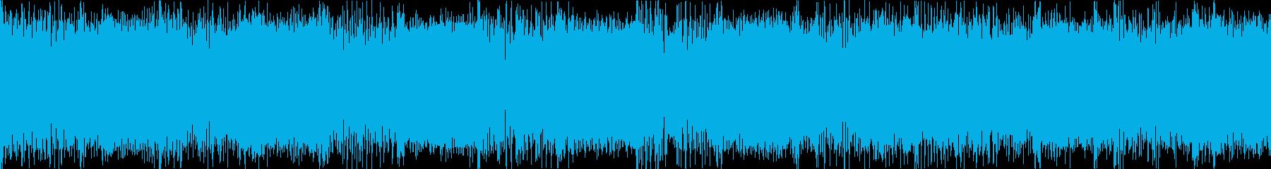 プレイヤーセレクト メタル ループの再生済みの波形