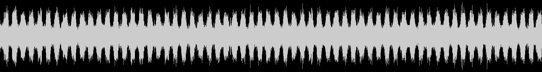ジャジーなピアノおしゃれポップループdの未再生の波形