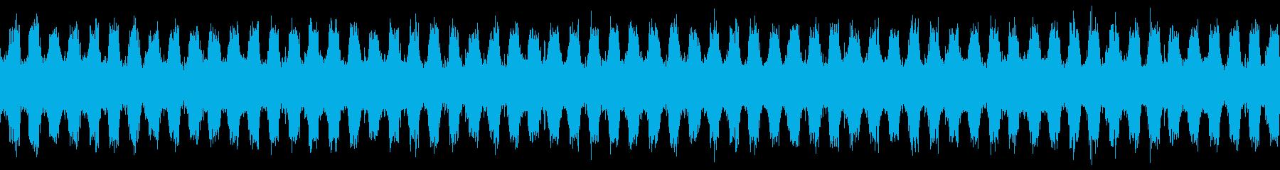 ジャジーなピアノおしゃれポップループdの再生済みの波形