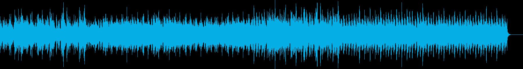 軽快でおしゃれなバックミュージック♪の再生済みの波形