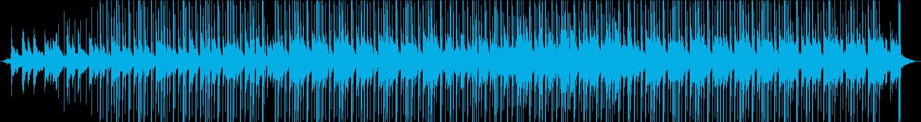 雨の日に合うLOFIなチルアウトインストの再生済みの波形