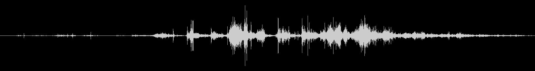 ダウンヒルスキーヤー:スタートゲー...の未再生の波形