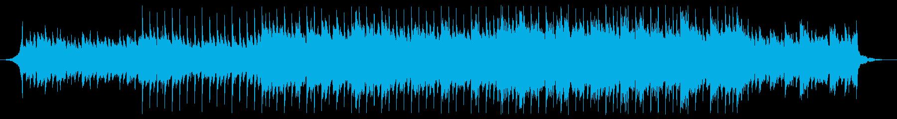アコギが耳に残るPOPS、60秒編集済みの再生済みの波形