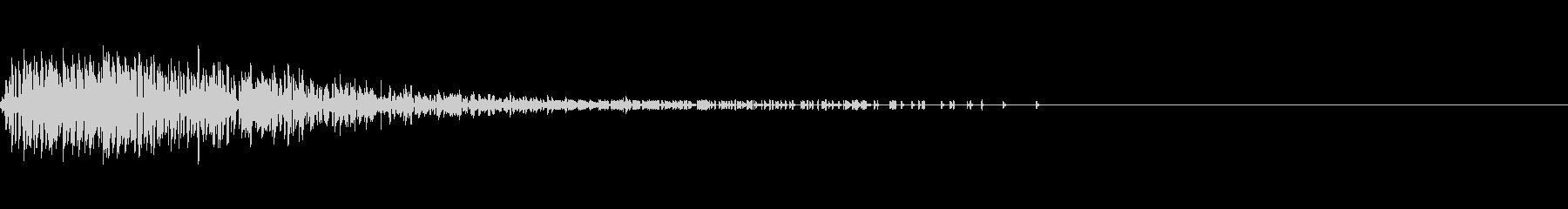 Noise デジタルノイズ 爆発の未再生の波形