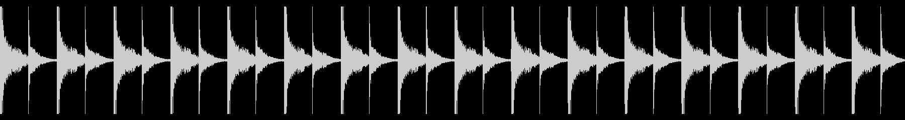 不穏なシンキングタイム(シロフォン)の未再生の波形