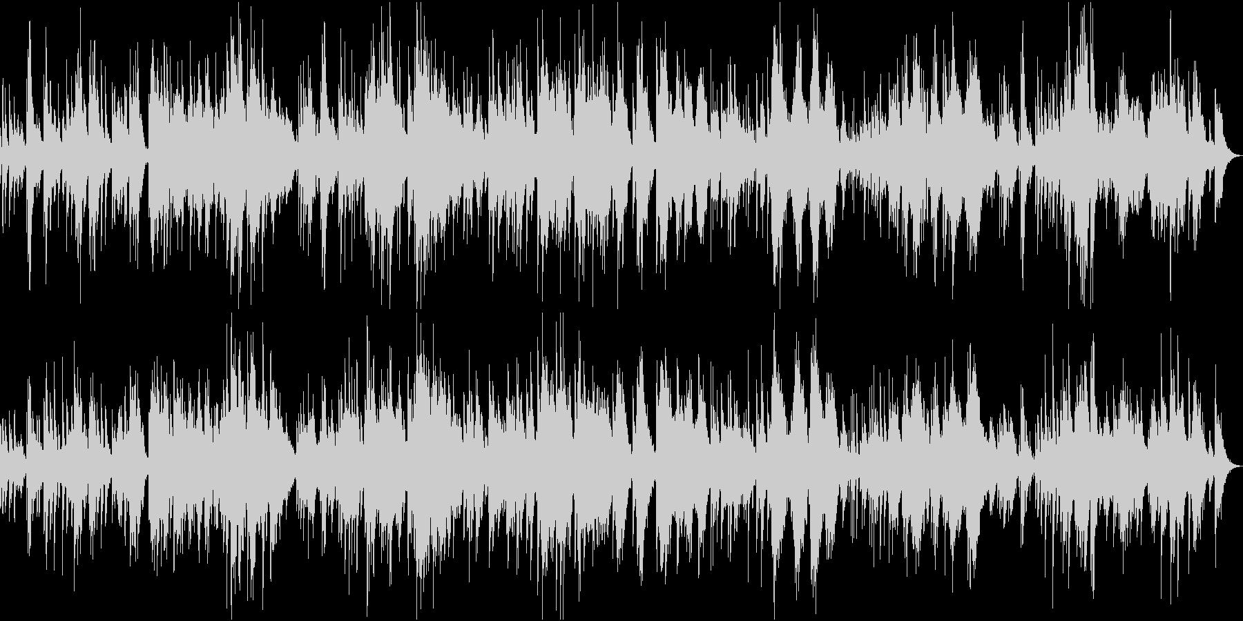 ピアノ主体の回想系・癒しアンビエントの未再生の波形