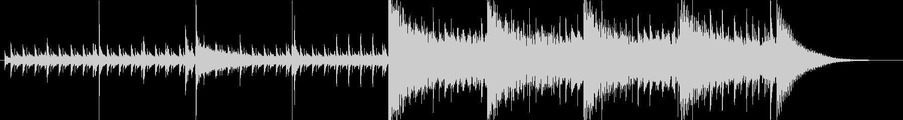 30秒・緊張感・クール・高速ジャズの未再生の波形