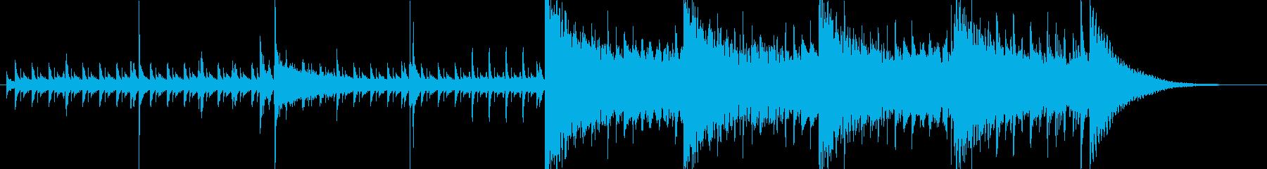 30秒・緊張感・クール・高速ジャズの再生済みの波形